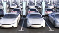 Parking electric cars. Charging stations. 76494940