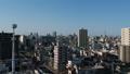名古屋市都市風景的風景採取了與寄生蟲的空中 76495021