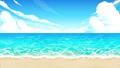 沙灘 風景 夏天 76556667