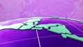 digital world map news intro background 76574799