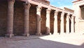 The ruins of the ancient temple of Horus in Edfu, Egypt 76595556