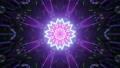 Star shaped ornament in tunnel 4K UHD 60FPS 3D illustration 76684691