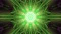 Neon green ornament 4K UHD 60FPS 3D illustration 76684692