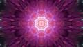 Pink crystal ornament 4K UHD 60FPS 3D illustration 76684695
