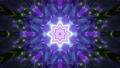 Crystal abstract tunnel 4K UHD 60FPS 3D illustration 76684697