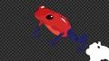 青蛙 兩棲的 一隻兩棲動物 76790432