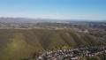 Aerial view of Carmel Mountain neighborhood with Black Mountain. San Diego 76803714