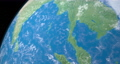 Bay of Bengal in planet earth, aerial view from outer space 76856336