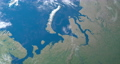 Barents Sea in in planet earth, aerial view from outer space 76856337
