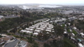 Aerial view of middle class townhouse and residential condos in San Diego 76868714