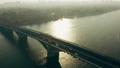 Transport city traffic car bridge train aerial river road 76890184