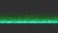 左右に連続配置することが可能なシンプルなタイトルバック(ループ可能) - グリーン/透過背景 76890408