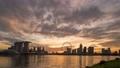 [4K Time Lapse] Singapore Skyscraper / Magic Hour Time Lapse 76947148