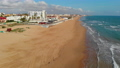 Aerial view empty beach of La Mata 76994193