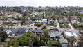 Aerial view of Cardiff, community in the incorporated city of Encinitas in San Diego County 77070420