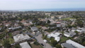 Aerial view of Cardiff, community in the incorporated city of Encinitas in San Diego County 77070426