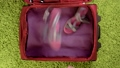 Suitcase with summer clothing 77072794