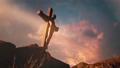 Jesus Christ hanging on cross 77112844