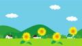 向日葵 illustration 數字動畫 77122677