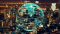 Global connection and the internet network modernization in smart city 77157291