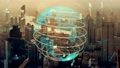 Global connection and the internet network modernization in smart city 77157292