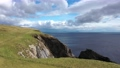 Aerial view of the beautiful coast at Malin Beg with Slieve League in the background in County Donegal - Ireland 77161769