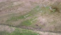 Aerial view of the EIRE sign at Malin Beg in County Donegal - Ireland 77161770