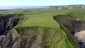Aerial view of the beautiful coast at Malin Beg in County Donegal - Ireland 77161771
