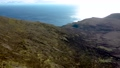 Aerial view of the beautiful coast at Malin Beg with Slieve League in the background in County Donegal, Ireland 77210695