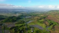 Aerial view of rice plantation,terrace, agricultural land of farmers. Tropical landscape with farmlands on island Luzon, Philippines. 77334435