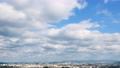 Urban landscape Fukuoka city time lapse 77415250