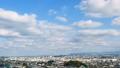 Urban landscape Fukuoka city time lapse 77443500