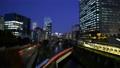 Tokyo Time Lapse Cityscape in the direction of Kanda Akihabara at dusk as seen from Hijiribashi 77579990