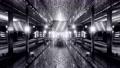 Underground passage with USA flag 4K UHD 60 FPS 3d illustration 77601979