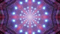 Futuristic tunnel with American flag design 4K UHD 60 FPS 3d illustration 77601987