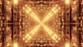 Moving through luminous tunnel 4K UHD 60 FPS 3d illustration 77601988