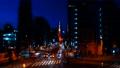 東京タワーが見える札の辻交差点から見た東京夜景タイムラプス映像 77986573