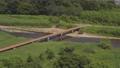 埼玉の沈下橋(冠水橋)若宮橋・高麗川 埼玉県坂戸市(ドローンによる空撮) 78256280