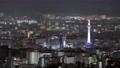 京都タワーと中心街の夜景 【都市夜景 京都】 78436453