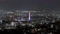 京都タワーと中心街の夜景 【都市夜景 京都】 78436454