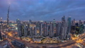 Dubai Sheikh Zayed Road day to night timelapse near Dubai Downtown Closer Look shows the density of these roads 78551881
