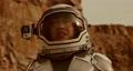 Glad woman talking and exploring Mars 78576604