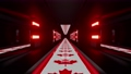 3d illustration of 4K UHD 60FPS dark tunnel with neon lights 78602270