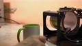 Modern printing press machine and ceramic mug 78746353