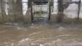 増水した河川からの逆流を止める排水口の逆水防止弁 79262273