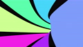 Seamless loop motion background with colourful stripes 79742402