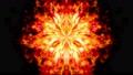 空間に放射される爆発の炎のCGループ映像 80115187