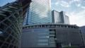 早朝のJR大阪駅 うめきた広場でのジンバル撮影・移動映像 80365272