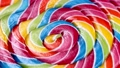 colorful spiral of a Lollipop on a stick 80416500