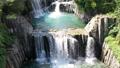 Tahara Falls, Tsuru City, Yamanashi Prefecture, where you can see the Fujikyu Line in the back 80819222